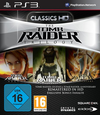 The Tomb Raider Trilogy Packshot