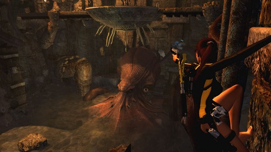Tomb Raider Underworld E3 2008 Screenshot
