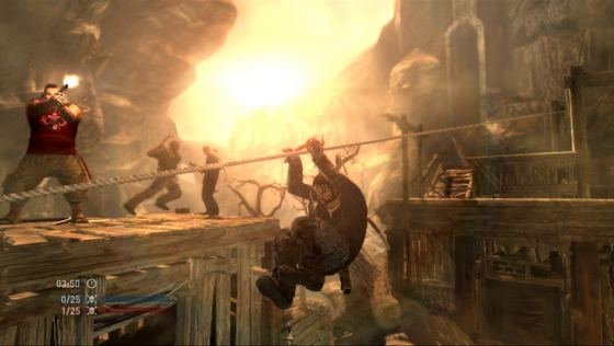 TOMB RAIDER Multiplayer Screenshot - The Chasm
