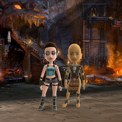 Lara Croft and the Guardian of Light Theme Preview