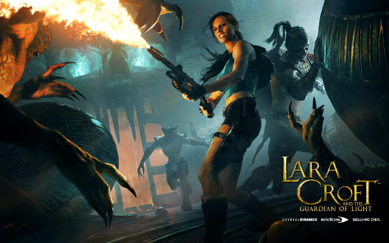 Lara Croft and the Guardian of Light Key Art 2