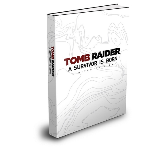 TOMB RAIDER Official Strategy Guide by Bradygames Limited Edition