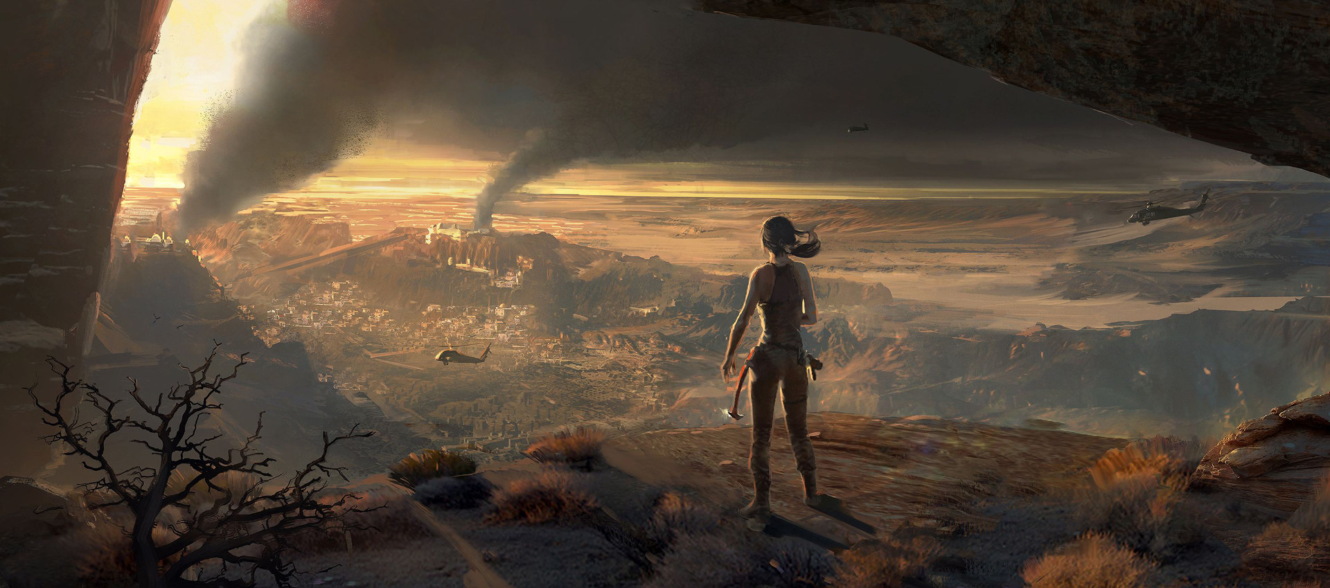 RISE OF THE TOMB RAIDER - CONCEPT ART