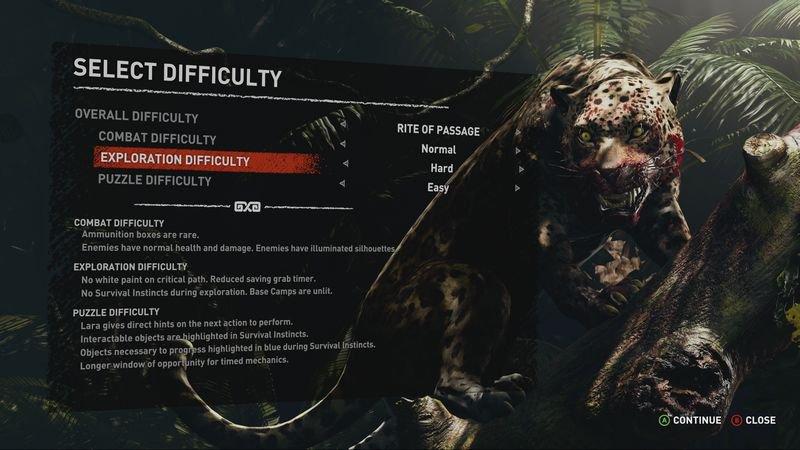 Shadow Of The Tomb Raider Schwierigkeitsgrade Und Zugänglichkeit