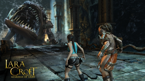 Lara Croft and the Guardian of Light Xbox360 Review