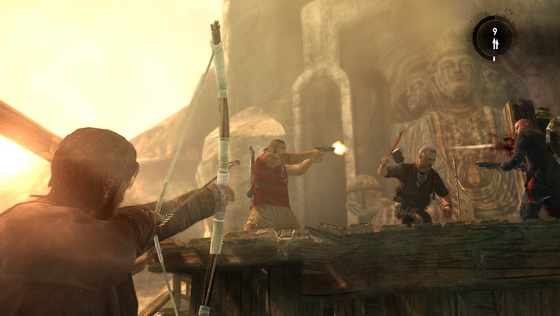 TOMB RAIDER Multiplayer Screenshot The Chasm